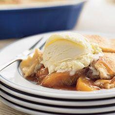 Peach Cobbler   Williams-Sonoma...the best recipe - summer peaches coming soon!