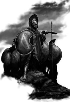 """The Spartans do not ask how many are the enemy, but where are they"", Plutarch - Lacedaemonians (Spartans)"