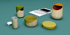 Accessoires de bureau Forest Appeau - recherche créative jocelyn deris