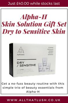4d6354bf2466 Your 5 piece concentrated dry sensitive skincare solution tailored to  provide you with what your