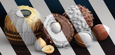 CGI Product Visualization - Ferrero Rocher on Behance