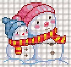 Snowman Cross Stitch Pattern, Xmas Cross Stitch, Cross Stitch Love, Cross Stitch Cards, Cross Stitch Borders, Modern Cross Stitch Patterns, Cross Stitch Designs, Cross Stitching, Cross Stitch Embroidery