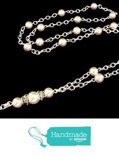 ID Badge Lanyard - Simply Beautiful Pearls from By Brenda Elaine Jewelry http://www.amazon.com/dp/B018PW0EZK/ref=hnd_sw_r_pi_dp_jSMgxb0J5WT24 #handmadeatamazon