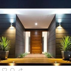 What a grand entrance by @bluewater_building nice deck entry with #sycon cladding @scyonwalls #carpentry #builder #entrancedoor #deck #cladding #beachhouse #modernbeachhouse by winterbuilding #modernbeach