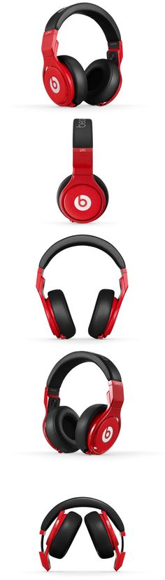 Beats Pro headphones are the best match to your #HTCOneRed