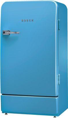Bosch Serie 8 Mini-Kühlschrank / A++ / 127 cm Höhe / L Kühlteil / 16 L Gefrierteil - Blau