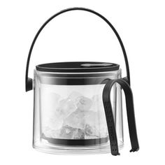 Bodum Eiskübel Cool L schwarz Happy Hour, Ice Cooler, Wine Chillers, Wine Refrigerator, Thing 1, Gin And Tonic, French Press, Plastic, Wine Rack