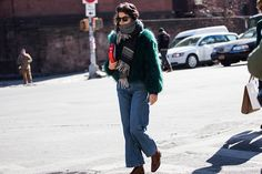 紐約時裝週首三天的精彩街拍