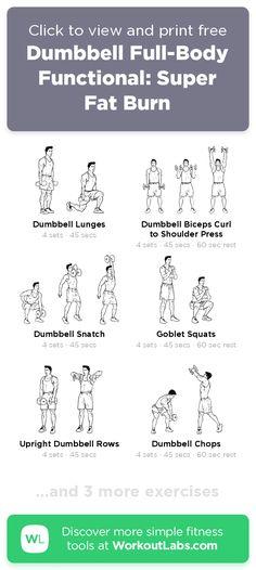Dumbbell Full-Body Functional: Super Fat Burn · WorkoutLabs Fit