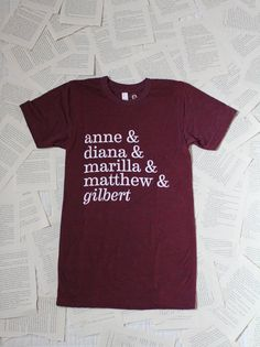 Anne of Green Gables Squad Tee