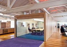 conference room - enclosed with one big window wall?