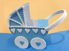 decoracion y adornos para baby shower en foami