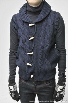 Мобильный LiveInternet Вдохновительное от кутюр - вязаные жакеты, куртки для мужчин | jponomore - мое обожаемое хобби |