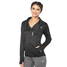 Chilly weather putting a damper on your workout? No problem. Decked out with warmCELL technology to help you retain heat, plus a high collar and cozy thumbholes for added protection, this jacket has everything needed to keep you warm...so you can keep kicking butt.  Features:   100% Polyester fleece  warmCELL designation for highly functional and breathable materials that retain heat close to the body to maintain optimum temperature when it's cold outside  Diagonal full zip closure…