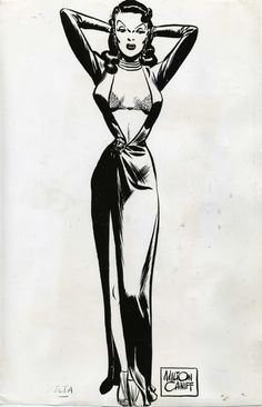 Milton Caniff Dragon Lady | item caniff burma smoking hand colored print 2 next item caniff ...
