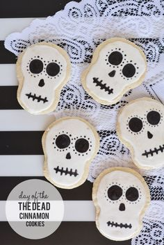 #DayoftheDead cinnamon cookies #diademuertos