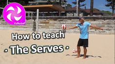 Teach your kids at elementary school how to play volleyball - get them learning their underarm and overarm serves in volleyball. This video is support to the. Volleyball Gifs, Volleyball Skills, Volleyball Setter, Volleyball Training, Coaching Volleyball, Beach Volleyball, Pe Games Elementary, Elementary Schools, Physical Education Lessons