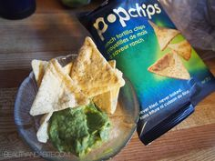 spice up your summer snack life: spicy guacamole + ranch tortilla popchips #recipe