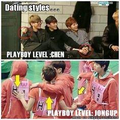 Chen just got one-up'd