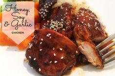 Honey Soy and Garlic Chicken Recipe