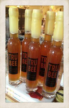 Beeswax Dipped TruBee Honey Bottles   tedkennedywatson.com