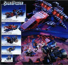 Lego space 1991 set