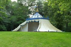 Turkish Tent -- Painshill Park, England