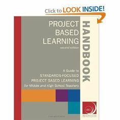 Project Based Learning Handbook: A Guide to Standards-Focused Project Based Learning for Middle and High School Teachers. An awesome instructor from The Buck Institute, mentioned this as a book she never goes without when working with teachers about PBL. Problem Based Learning, Inquiry Based Learning, Project Based Learning, Student Learning, Teaching Tools, Teach Like A Champion, School Counselor Office, Too Cool For School, School Stuff
