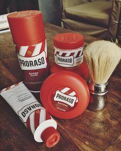 Proraso Red Line  #prodotti #collezionerossa #columbuzzpressoffice #columbusitalia #barbershop #rosso #vintage #vintageshop #vintagestyle