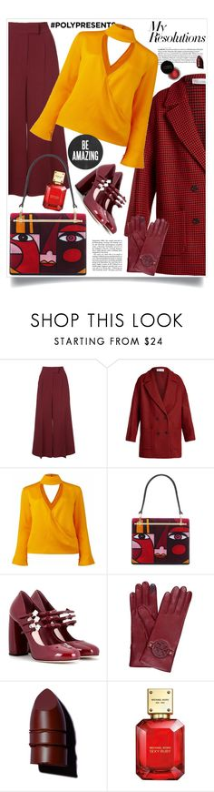 """""""#PolyPresents: New Year's Resolutions"""" by hani-bgd ❤ liked on Polyvore featuring Roksanda, RED Valentino, Conflict of Ego, Prada, Miu Miu, Tory Burch, Concrete Minerals, Anastasia Beverly Hills, Michael Kors and contestentry"""