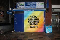 #CultureClash - shop front branding