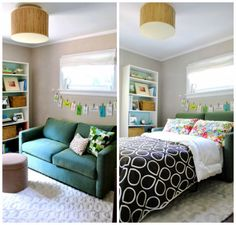 Pull out couch for a multi-purpose guestroom. Would be good for downstairs room so I could use it as a craft room