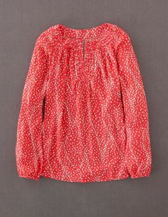 I've spotted this @BodenClothing Brondesbury Top Coral Waterfall