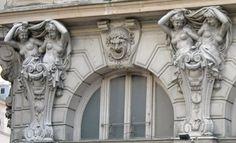 Albert Carrier-Belleuse : Cariatides, Théâtre de la Renaissance