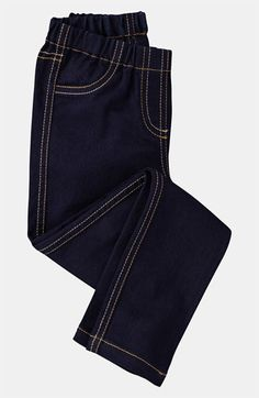Mini Boden Denim Leggings
