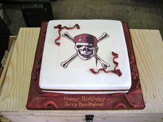 Keeping things Pirates themed for Jerry Bruckheimer's birthday