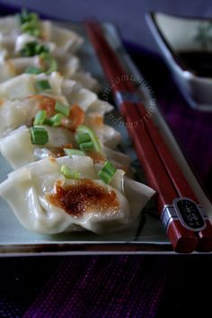 Gyozas au poulet – Chicken potstickers (Recipe in French and English) - Mon Île, ma Passion...