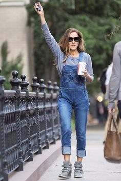 Dungaree Outfit Ideas – Dungarees and Dungaree Shorts Trend (Glamour.com UK)