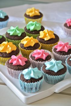 #cupcakes by @tanadelconiglio #wow
