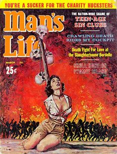 Funny Cover Stories From Man's Life Magazine