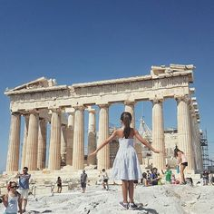 When you can feel the magic in the air  .#athens