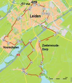 Het polderland rond Leiden (fietsroute 44 km) Camper, Leiden, Biking, Backpacking, Places To Travel, Holland, Road Trip, Sport, Rice