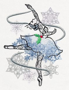Sugar Plum - Snow Queen | Urban Threads: Unique and Awesome Embroidery Designs