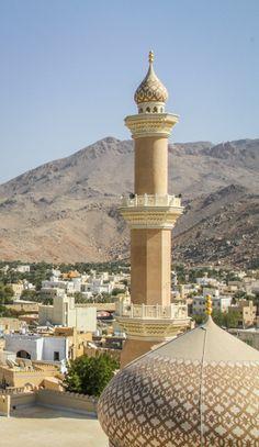 Nizwa, Oman #oman #travel #arabia #nizwa #moschee #mosque
