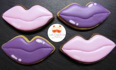 Lips Cookies by Wish I Had A Cake