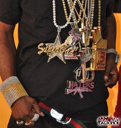 Crazy hip hop bling