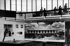 Sérgio Bernardes, Pavilhão do Brasil na Exposição de Bruxelas, 1958.