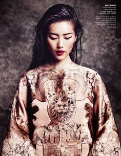 classicmodels:  Liu Wen for Vogue Thailand, October 2013 by Marcin Tyszka