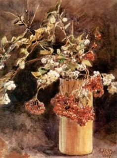Painting done by Adolf Hitler.