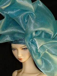 BJD Couture Doll Hat by susanlake1 on Etsy, $130.00